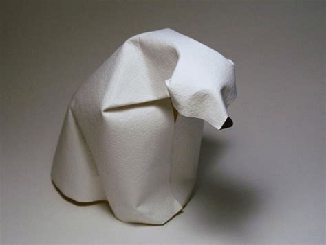Polar Origami - most adorable origami creations for world origami day