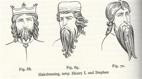 anglo saxons hair stiels 12th century the household anglo norman living history