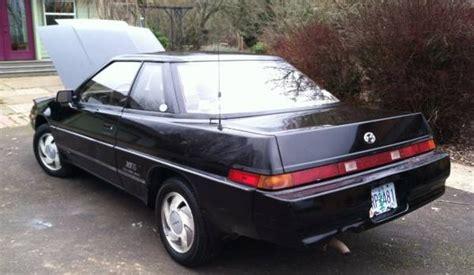 where to buy car manuals 1988 subaru xt parking system kidney anyone 1988 subaru xt6 for 3 500 japanese nostalgic car