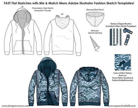 Mens Flat Fashion Sketch Templates My Practical Skills My Practical Skills Adobe Illustrator Clothing Design Templates