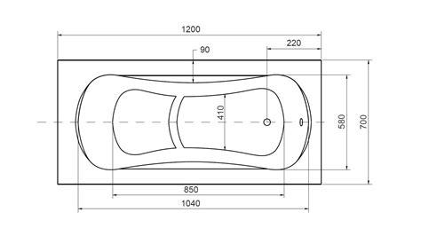 dimensions baignoire baignoire sabot vania baignoire design mobilier salle