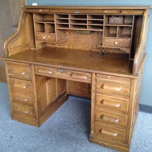roll top desk with drawers vintage roll top tiger oak desk 7 drawers 2 writing