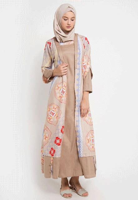 Baju Casual Untuk Muslimah 17 model baju batik muslim 2018 untuk remaja muslimah casual trendy