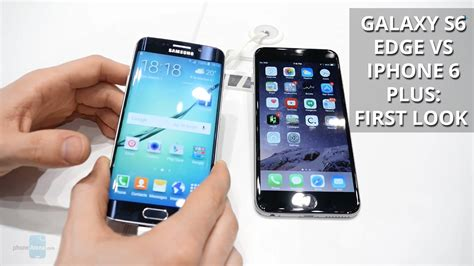 samsung galaxy s6 edge vs iphone 6s plus samsung challenges apple again in the supersized