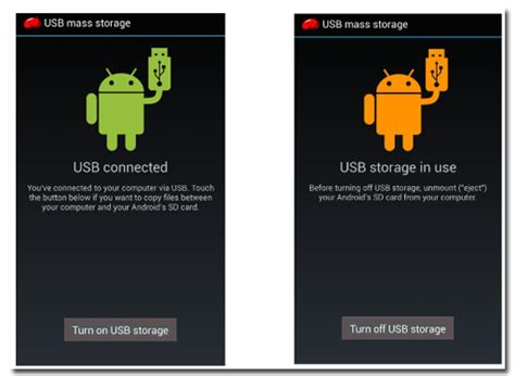 android a how to connect your android device to a pc with usb mass storage mode