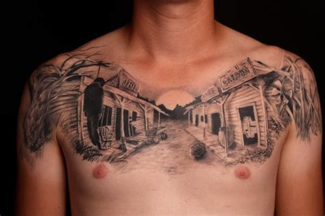 ghost town tattoo 20 best tattoos of the week nov 28th to dec 04th 2013
