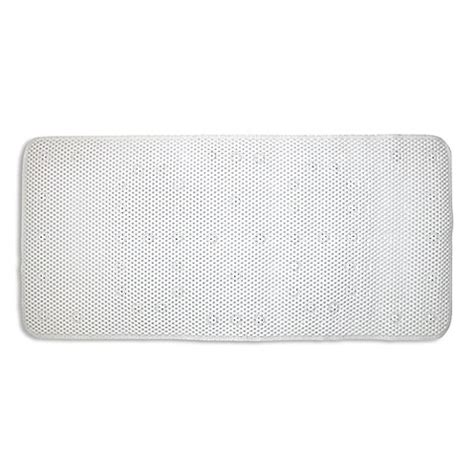large bathtub mats ginsey large cushioned bath mat bed bath beyond