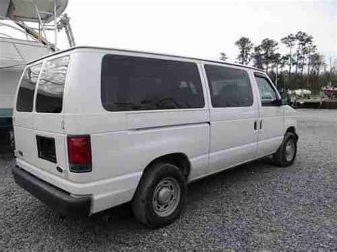 how cars run 1998 ford econoline e350 transmission control purchase used 2005 ford e 350 xl 4 6l v6 gas engine automatic transmission white runs great nr