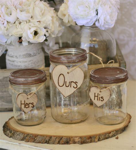 Wedding Ceremony Sand by Wedding Sand Ceremony Set Jars Rustic Chic Decor By