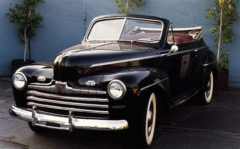 Back To The Future Ford by 1946 Ford De Luxe Convertible Biff S Car In Back