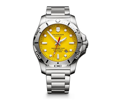 Swiss Army Altitude Original Singapore Os victorinox i n o x professional diver en amarillo 45 mm