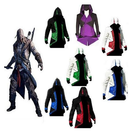 Jaket Anime Assassins Creed Casual Jacket Hoodie Jw Asc 02 popular anime jackets buy cheap anime jackets lots from