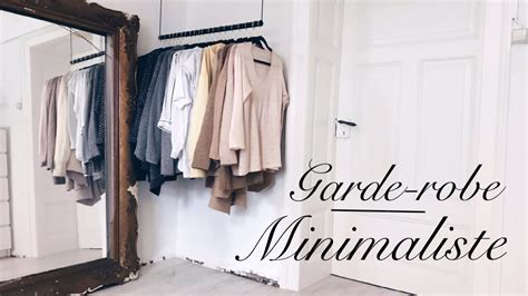 garde robe minimaliste comment avoir une garde robe minimaliste