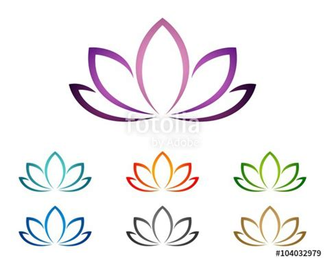 lotus spa quot purple lotus or flower for spa logo template 2