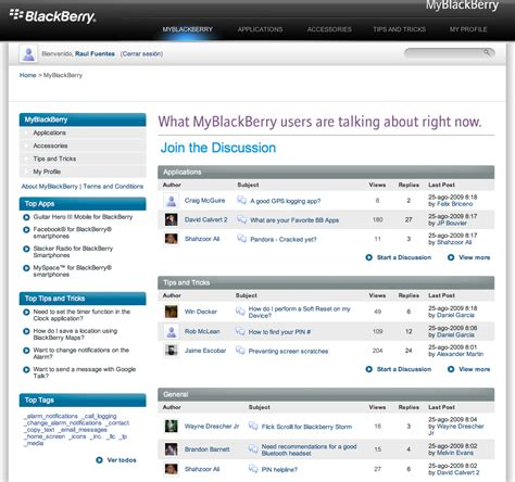 My Blackberry by My Blackberry La Social De Ya Disponible Para