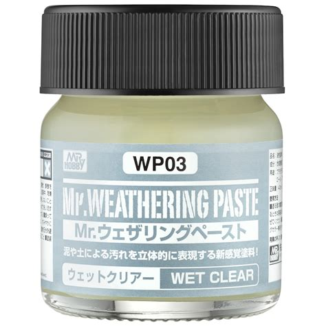Dijamin Mr Weathering Color 03 wp03 mr weathering paste clear mr hobby wp 03