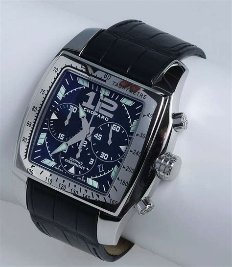 Chopard Buterfly Leather chopard two o ten chronograph s automatic