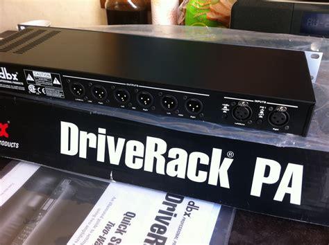 Drive Rack Pa by Welches Image Hat Driverack Bewertungen Nachrichten