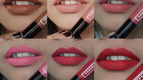 Lipstik Makeover Matte Lip emina matte all shades lip swatches review jihan
