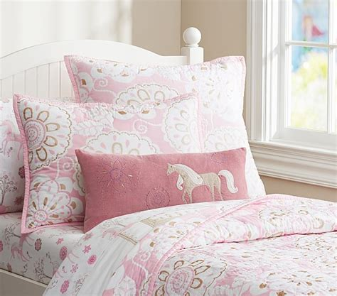 quilted comforters paige quilted bedding pottery barn kids