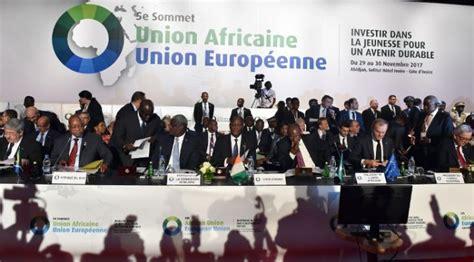 union africaine si鑒e 5e sommet ua ue les chefs d etat africains interpell 233 s 224