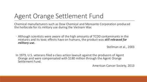 Mesothelioma Settlement Fund 5 by Orange Zone November 2016