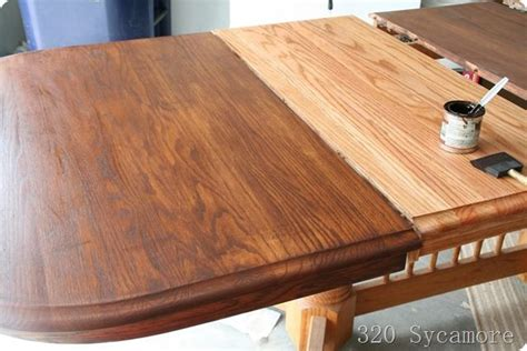 Best Finish For Kitchen Table The 25 Best Ideas About Refinish Table Top On Refinishing Wood Tables Table Top
