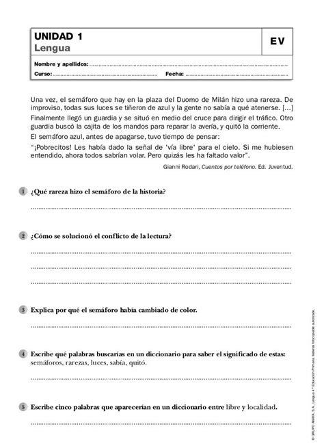 lengua 5 primaria 846801057x evaluaciones de lengua 4 186 primaria anaya escola evaluacion lengua y castellanos