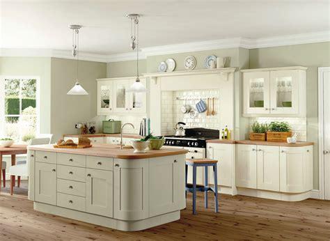 sage and cream shaker style kitchen kitchen decorating housetohome co uk symph rockford ivory and sage kitchen kitchens kck love