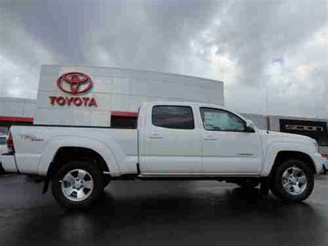 toyota tacoma long bed for sale find new all new 2013 tacoma double cab long bed 4x4 trd