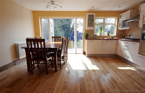 Kitchen Flooring With White Cabinets White Kitchen White Kitchen Cabinets Wood Floors