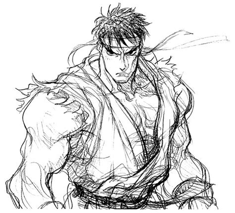 Fighter V Sketches by Fighter Galleries Fighter 2 X Sketches 1