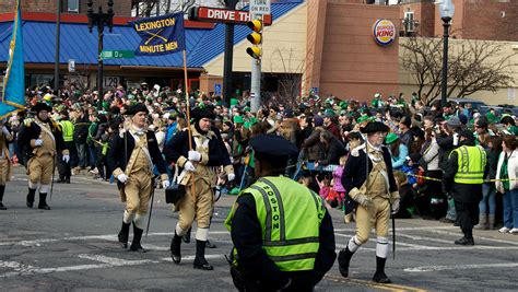 on why does boston have two st patricks day parades in a word boston s st patrick s day parade route shortened for 2016