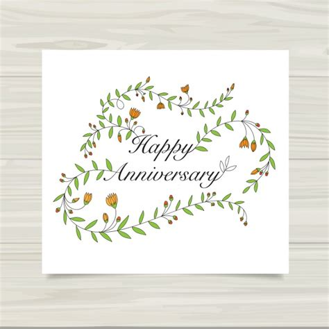 Happy Anniversary Cards For And In