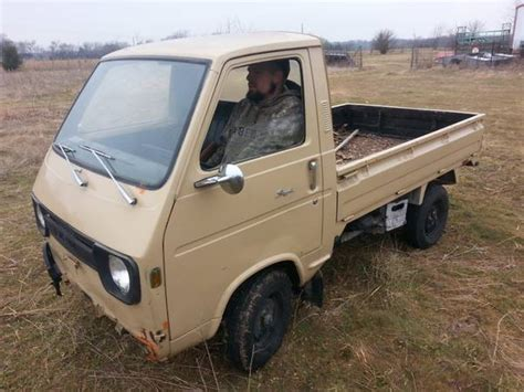 suzuki box truck truck 1972 suzuki carry but trusty