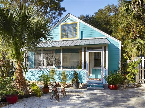 Sarasota Cottage Rentals by Experience Authentic Florida Turquoise Cottage In