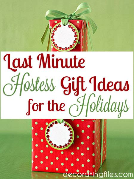 last minute hostess gift ideas for the holidays