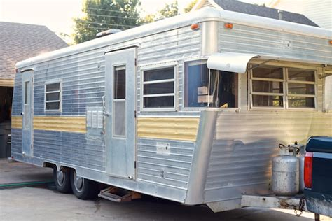 travel trailer restoration ideas cozy vintage cer renovation mobile home living