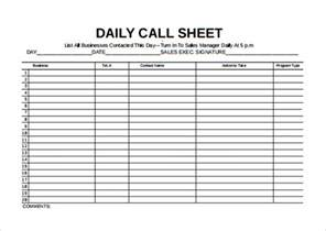one sheet template word call sheet template 21 free word pdf documents
