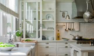 deulonder com glass front sliding kitchen cabinets in off white ivory light gray honed quartz - traditional kitchen cabinets