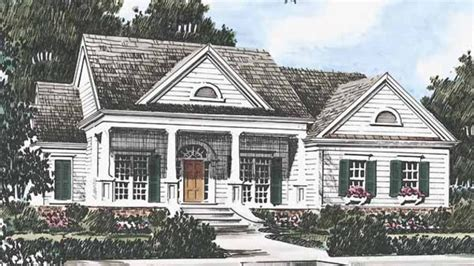 Southern Living Ranch House Plans Ansonborough Southern Living House Plans