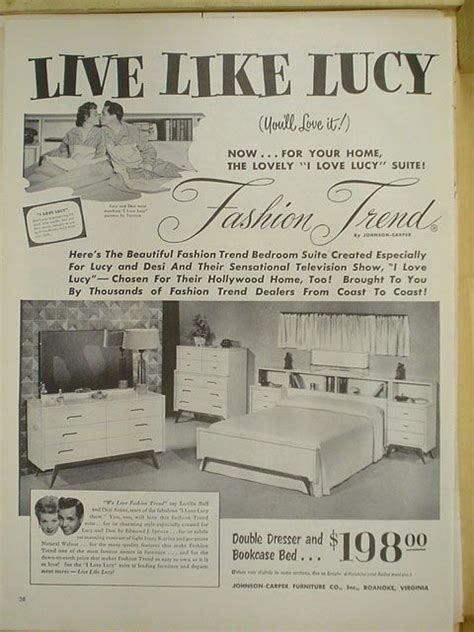 i love lucy bedroom set love lucy bedroom sets and magazine ads on pinterest