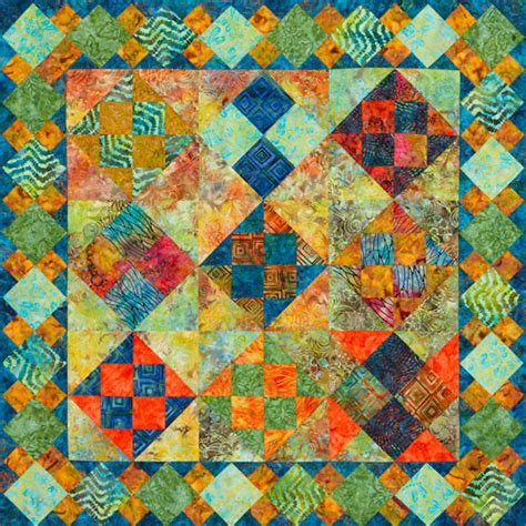 Tropical Quilts by Tropical Patches Wall Quilt Allpeoplequilt
