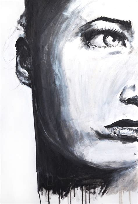 l black oil paint black and white paintings of women www imgkid com the
