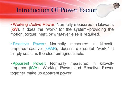 induction motor kvar power factor improvement of an induction motor