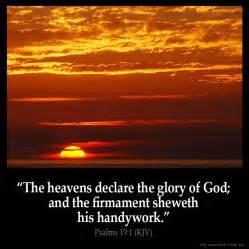 The God Of All Comfort Kjv Psalms 19 1 Inspirational Image