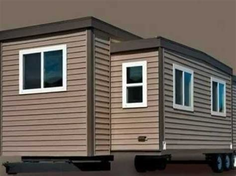 tiny house with slide out slide out tiny house on wheels pinterest