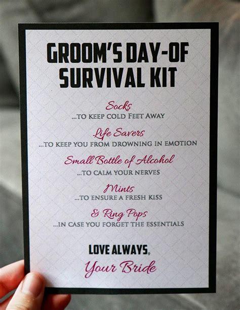 Hangover Kit Wedding - Hangover Kit Wedding Poem // Personalized ...