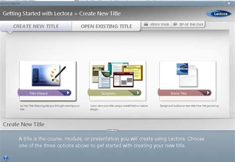 jenis layout presentasi tutorial membuat presentasi menggunakan lectora inspire