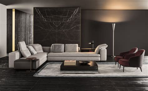 Modular Living Room Furniture by Yang Modular Sofa Systems From Minotti Architonic